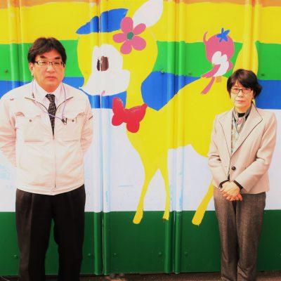 株式会社T・P・T 藤嶋理久子 代表取締役  山川義介 取締役常務